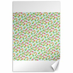 Flowers Roses Floral Flowery Canvas 24  X 36