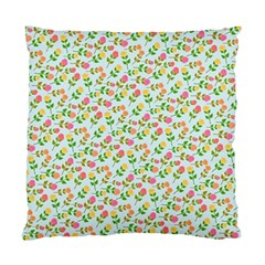 Flowers Roses Floral Flowery Standard Cushion Case (one Side)