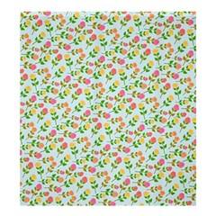 Flowers Roses Floral Flowery Shower Curtain 66  X 72  (large)