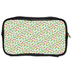 Flowers Roses Floral Flowery Toiletries Bags
