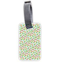 Flowers Roses Floral Flowery Luggage Tags (One Side)