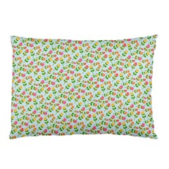 Flowers Roses Floral Flowery Pillow Case (two Sides)