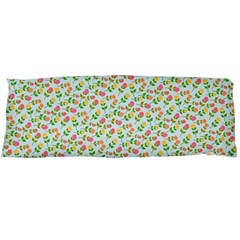 Flowers Roses Floral Flowery Body Pillow Case Dakimakura (two Sides)
