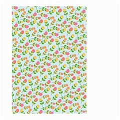 Flowers Roses Floral Flowery Small Garden Flag (two Sides)