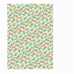 Flowers Roses Floral Flowery Large Garden Flag (two Sides)