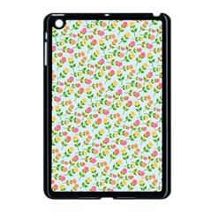 Flowers Roses Floral Flowery Apple Ipad Mini Case (black)