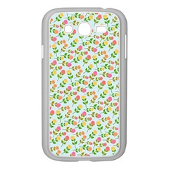 Flowers Roses Floral Flowery Samsung Galaxy Grand Duos I9082 Case (white)