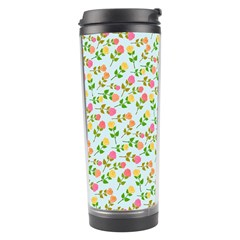 Flowers Roses Floral Flowery Travel Tumbler
