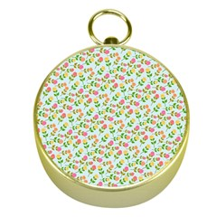 Flowers Roses Floral Flowery Gold Compasses