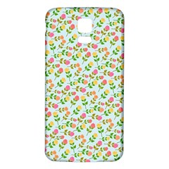 Flowers Roses Floral Flowery Samsung Galaxy S5 Back Case (white)