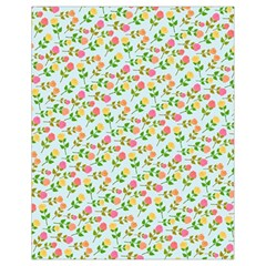 Flowers Roses Floral Flowery Drawstring Bag (small)