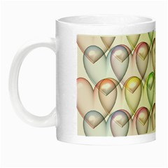 Valentine Hearts 3d Valentine S Day Night Luminous Mugs