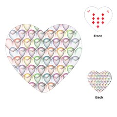 Valentine Hearts 3d Valentine S Day Playing Cards (heart)