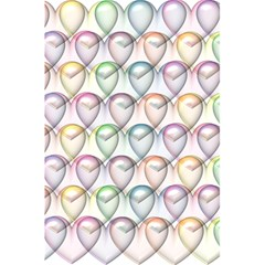 Valentine Hearts 3d Valentine S Day 5 5  X 8 5  Notebooks