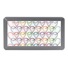 Valentine Hearts 3d Valentine S Day Memory Card Reader (mini)
