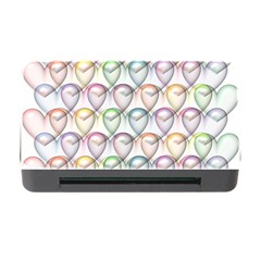 Valentine Hearts 3d Valentine S Day Memory Card Reader with CF