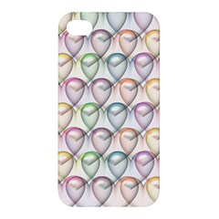 Valentine Hearts 3d Valentine S Day Apple Iphone 4/4s Hardshell Case
