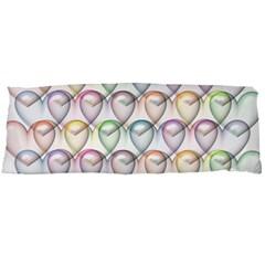 Valentine Hearts 3d Valentine S Day Body Pillow Case (dakimakura)
