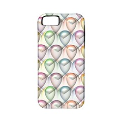 Valentine Hearts 3d Valentine S Day Apple Iphone 5 Classic Hardshell Case (pc+silicone)