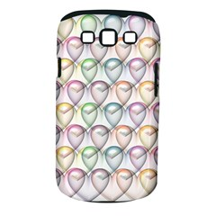 Valentine Hearts 3d Valentine S Day Samsung Galaxy S Iii Classic Hardshell Case (pc+silicone)