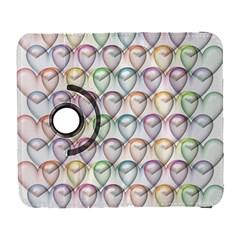 Valentine Hearts 3d Valentine S Day Galaxy S3 (flip/folio)