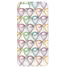 Valentine Hearts 3d Valentine S Day Apple Iphone 5 Hardshell Case With Stand