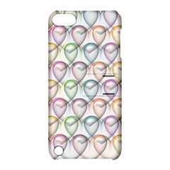 Valentine Hearts 3d Valentine S Day Apple Ipod Touch 5 Hardshell Case With Stand