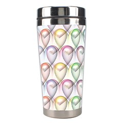 Valentine Hearts 3d Valentine S Day Stainless Steel Travel Tumblers
