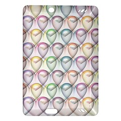 Valentine Hearts 3d Valentine S Day Amazon Kindle Fire Hd (2013) Hardshell Case