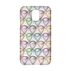 Valentine Hearts 3d Valentine S Day Samsung Galaxy S5 Hardshell Case