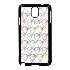 Valentine Hearts 3d Valentine S Day Samsung Galaxy Note 3 Neo Hardshell Case (black)