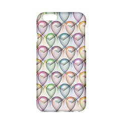 Valentine Hearts 3d Valentine S Day Apple Iphone 6/6s Hardshell Case
