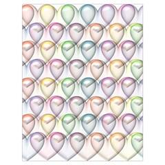 Valentine Hearts 3d Valentine S Day Drawstring Bag (large)