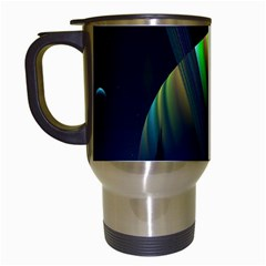 Planets In Space Stars Travel Mugs (white)