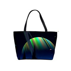 Planets In Space Stars Shoulder Handbags