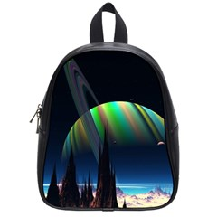 Planets In Space Stars School Bags (Small)