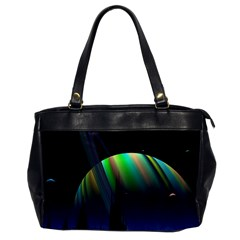 Planets In Space Stars Office Handbags