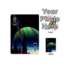 Planets In Space Stars Playing Cards 54 (mini)