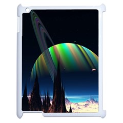Planets In Space Stars Apple Ipad 2 Case (white)