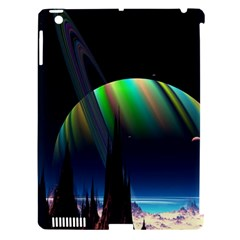 Planets In Space Stars Apple Ipad 3/4 Hardshell Case (compatible With Smart Cover)