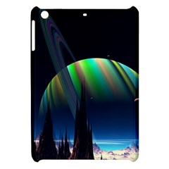 Planets In Space Stars Apple Ipad Mini Hardshell Case