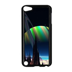 Planets In Space Stars Apple iPod Touch 5 Case (Black)