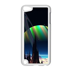 Planets In Space Stars Apple Ipod Touch 5 Case (white)