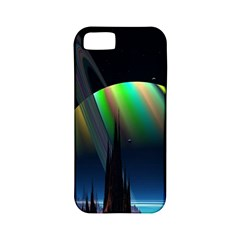 Planets In Space Stars Apple Iphone 5 Classic Hardshell Case (pc+silicone)