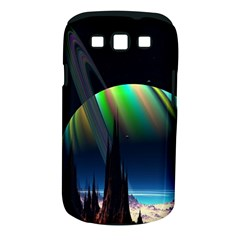 Planets In Space Stars Samsung Galaxy S III Classic Hardshell Case (PC+Silicone)