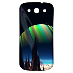 Planets In Space Stars Samsung Galaxy S3 S Iii Classic Hardshell Back Case