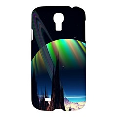 Planets In Space Stars Samsung Galaxy S4 I9500/i9505 Hardshell Case