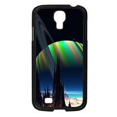 Planets In Space Stars Samsung Galaxy S4 I9500/ I9505 Case (black)