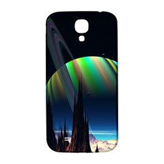 Planets In Space Stars Samsung Galaxy S4 I9500/i9505  Hardshell Back Case