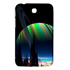 Planets In Space Stars Samsung Galaxy Tab 3 (7 ) P3200 Hardshell Case